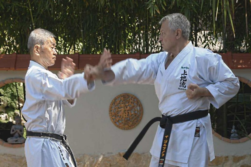 С Шимабукуро Юкинобу (кумитэ), 2013