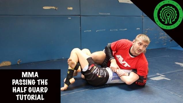 Видео уроки MMA. Полугард