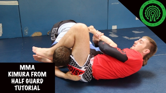 Видео уроки MMA. Работа в позиции полугард
