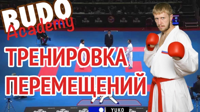 Денис Клюев. Перемещения в спортивном каратэ