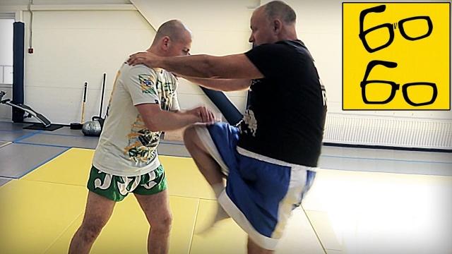 Урок кикбоксинга с Леонидом Ильченко. Базовые связки в K-1