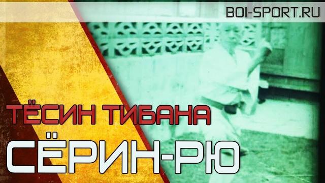 Тёсин Тибана. Ката каратэ Сёрин рю (1965)
