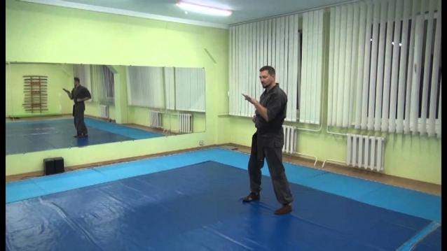 Демонстрация базовой формы движений рук Пенчак-Силат