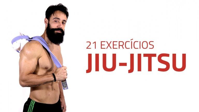 21 упражнение на основе движений джиу-джитсу для бойцов