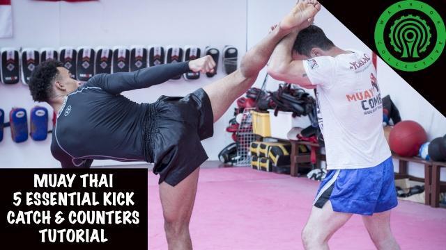 Урок Муай Тай. 5 основных уловок и защит против ударов ногами