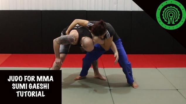 Видео уроки MMA. Бросок через себя