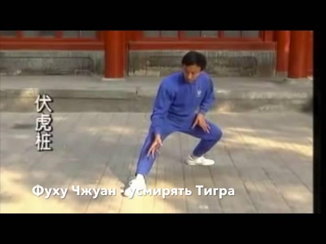 Классика Ицюань. Часть 2  Боевые столбы