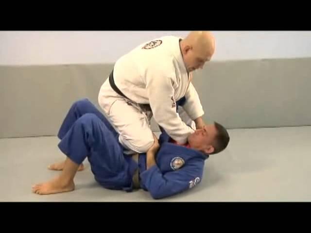 Бразильское джиу джитсу. БЖЖ позиция колено на животе