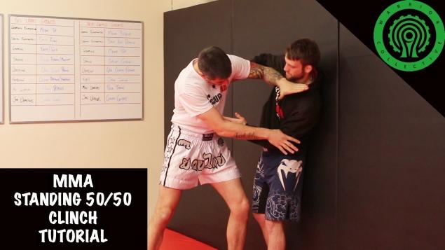 Видео уроки MMA. Борьба в клинче