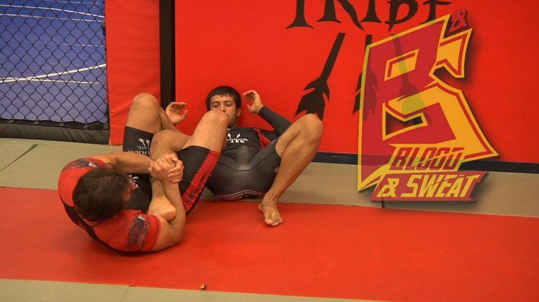 Уроки самбо. Болевые на ноги из стойки для грэпплинга и MMA | Leg lockes from feet MMA grappling