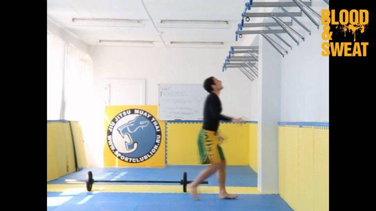Кроссфит видео. Кроссфит-подготовка для ММА (комплекс 1)