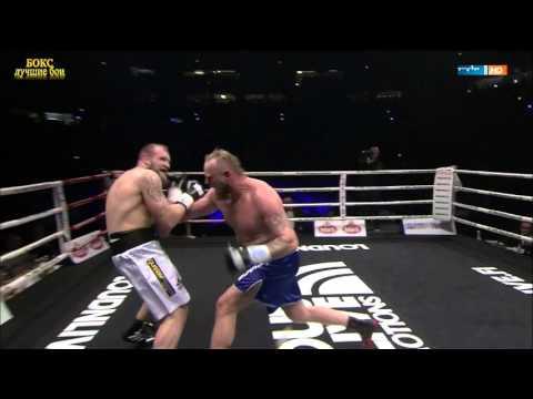 Профессиональный Бокс. Видео боя  Роберт Хелениус - Франц Рилл