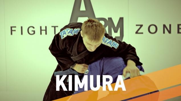 Приемы бразильского джиу джитсу. Кимура из стойки