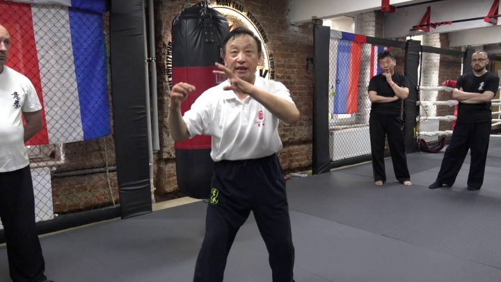Мастер Яо Ченжун. Работа по мешку в Ицюань. Часть 9