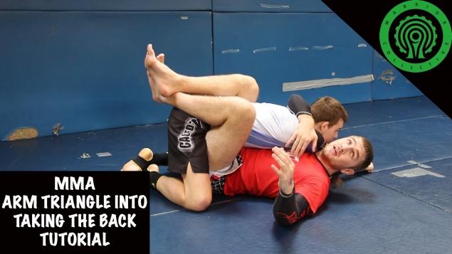 Видео уроки MMA. Удушающий приём «Треугольник»