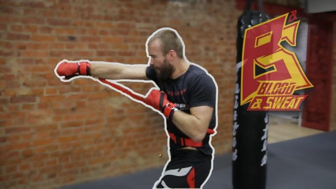 Макс Дедик. Тренировка скорости, силы и техники ударов с тренажером Fight Belt