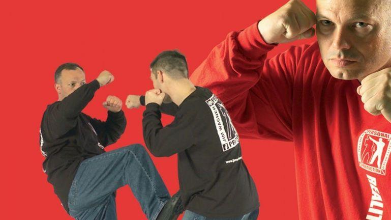 Самооборона: пинки и блокирование ног. Джим Вагнер