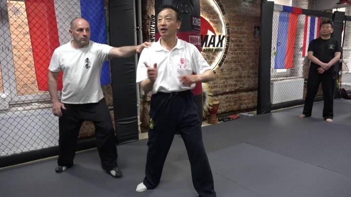 Мастер Яо Ченжун. Работа по мешку в Ицюань. Часть 6