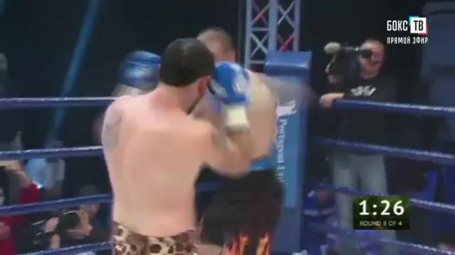 Профессиональный Бокс. Видео боя  Гор Акопян - Махмуд Мусалов