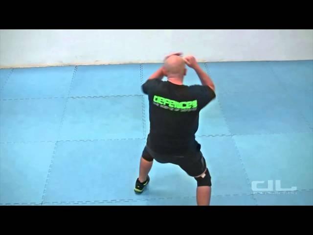 Самооборона. Базовая техника - комбинация джеб-кросс с работой ног