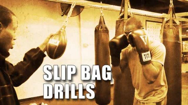 Тренировка уклонов на груше Slip Bag
