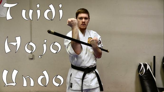 Упражнения карате Ходзё ундо с бодибаром