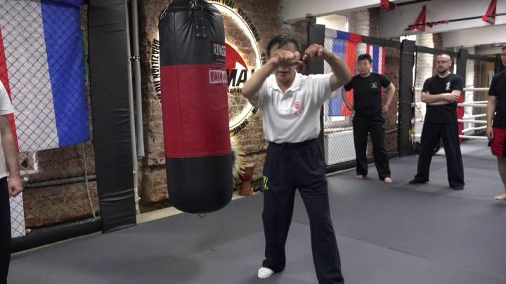 Мастер Яо Ченжун. Работа по мешку в Ицюань. Часть 4