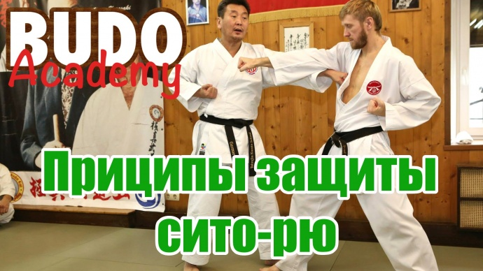 Вениамин Гармаев. Принципы защиты каратэ Сито-рю