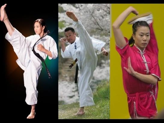Основные разогревающие упражнения в карате