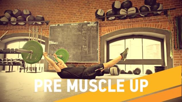 Упражнения КроссФит. Подготовка к выходу силой на кольцах