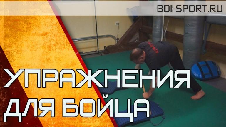 Упражнения для бойца