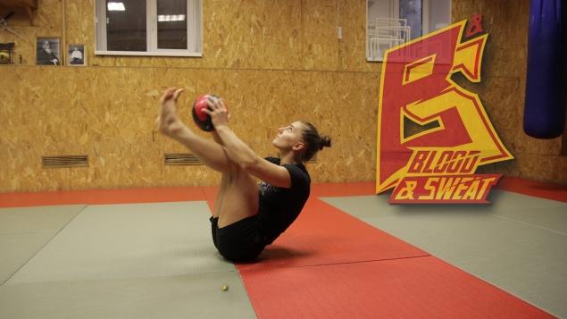 Круговая тренировка для бойцов MMA