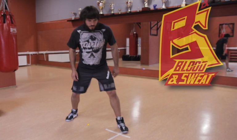 Кроссфит видео. Тренировка скорости, выносливости и координации ног. Футворк и техника бокса. Эльмар
