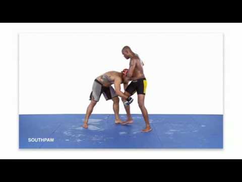Тренировки ММА. Защита от захвата ноги в ММА