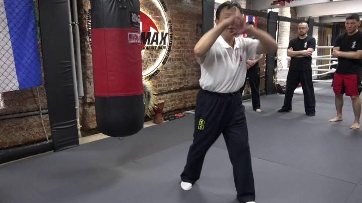 Мастер Яо Ченжун. Работа по мешку в Ицюань. Часть 5