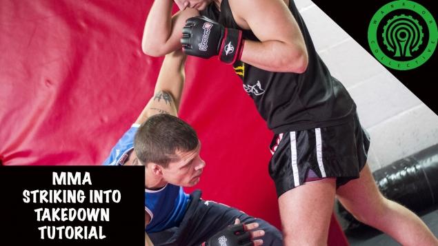 Видео уроки MMA. Бросок захватом двух ног
