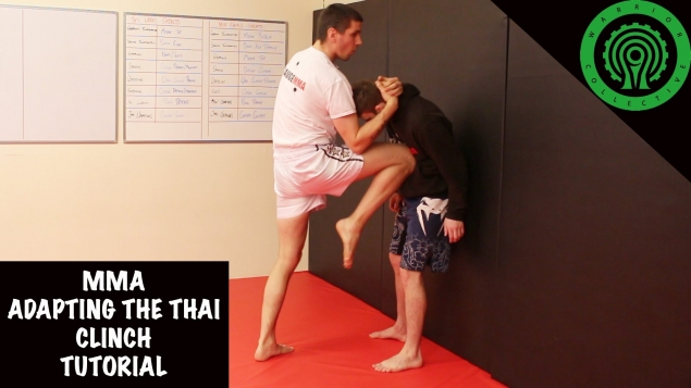 Видео уроки MMA. Адаптация тайского клинча