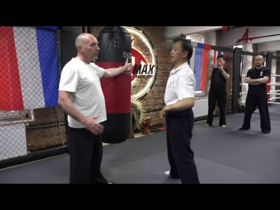 Мастер Яо Ченжун. Работа по мешку в Ицюань. Часть 3