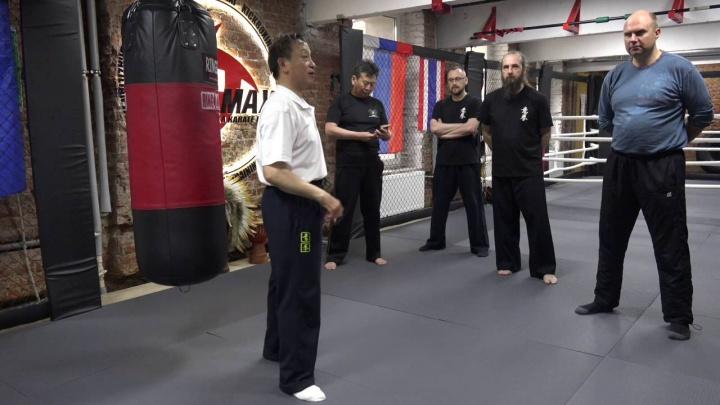 Мастер Яо Ченжун. Работа по мешку в Ицюань. Часть 11
