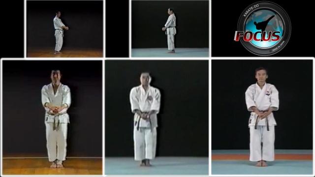 Ката Бассай дай в 3-х главных стилях каратэ