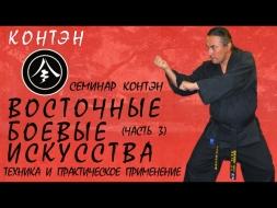 Семинар «Традиционное достилевое каратэ. Техника и практическое применение». Часть 3