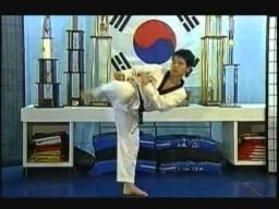 Боковой удар ногой (Сайд кик). Техника тхэквондо
