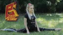 Кроссфит видео. Растяжка для единоборств. Stretching for martial arts. Юлиана Платонова.