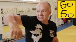 Урок бокса с Леонидом Ильченко. Техника боксерских ударов снизу и сбоку
