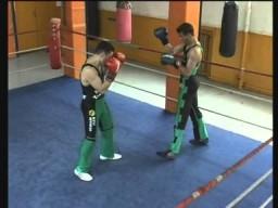 Ударные комбинации французского бокса сават