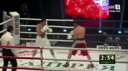 Профессиональный Бокс. Видео боя Иса Чаниев - Аркадий Арутюнян